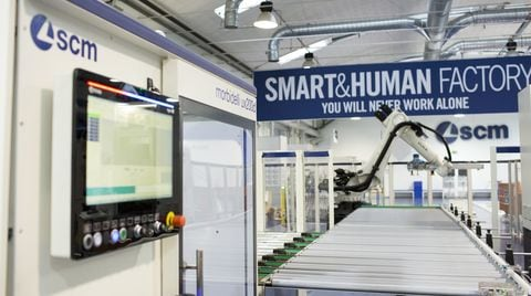 The factory of the future at SCM Open Days