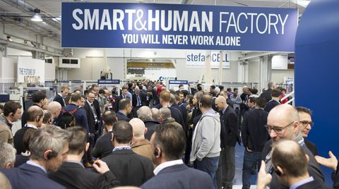 Record participation at the SMART&HUMAN FACTORY
