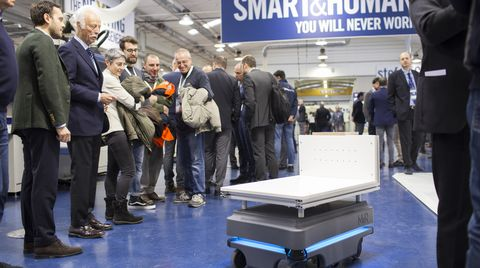 "Thousands of visitors for the ""SCM smart"" factory"