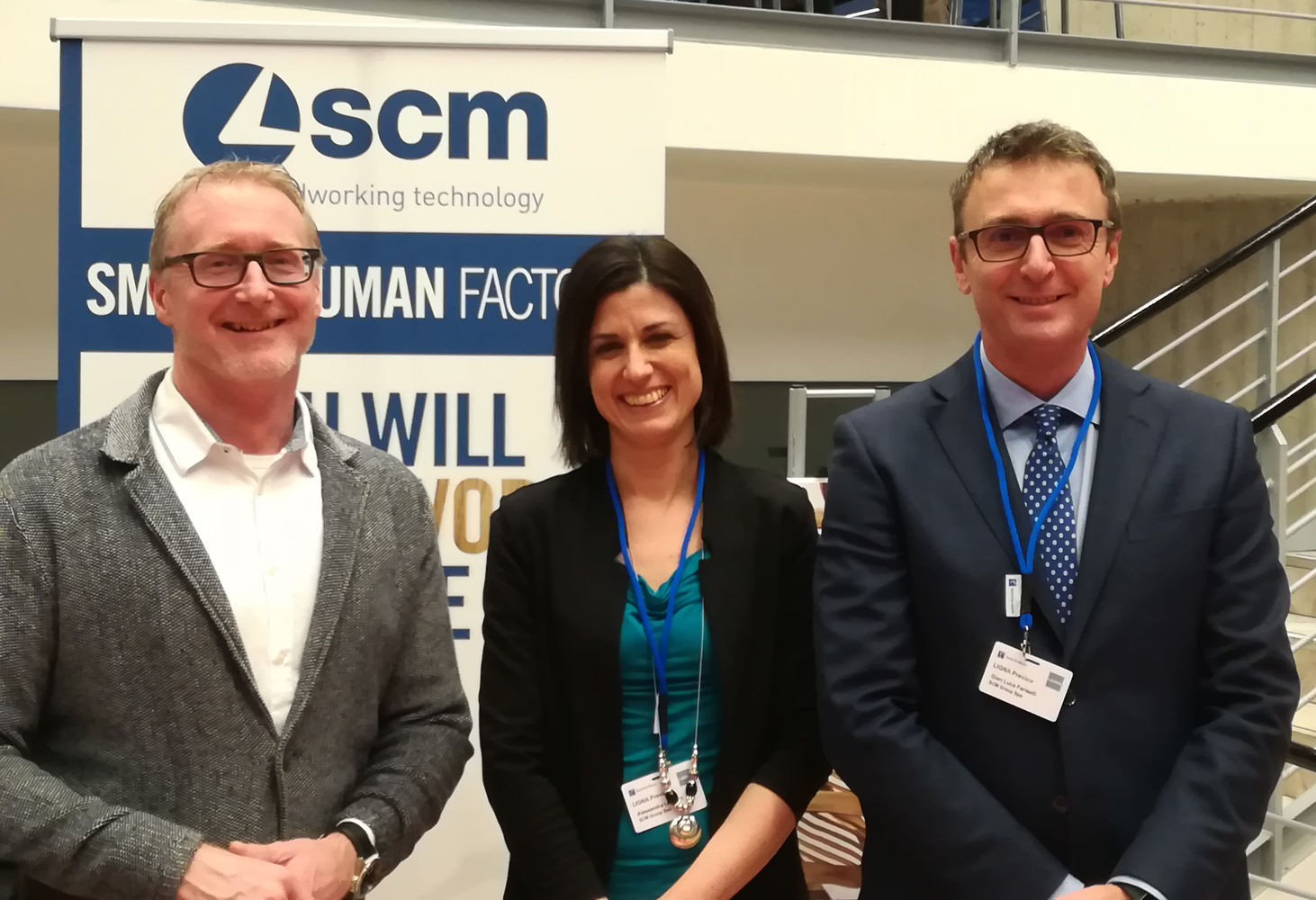 Scm partner di Ligna Preview ad Hannover