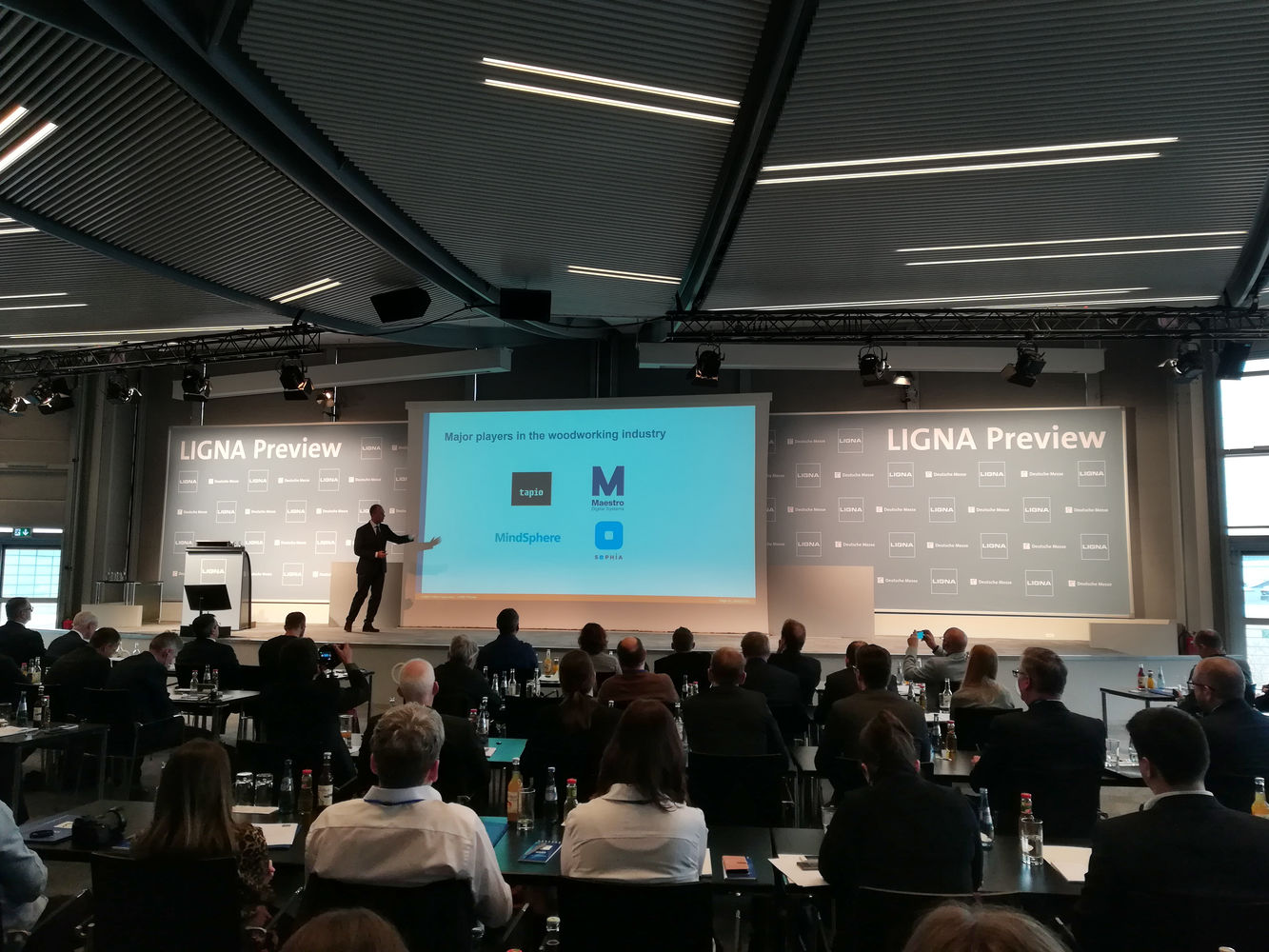SCM, partner of Ligna Preview in Hanover