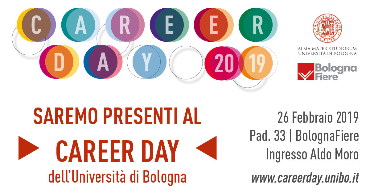 Scm Group al CAREER DAY 2019 dell'Università di Bologna