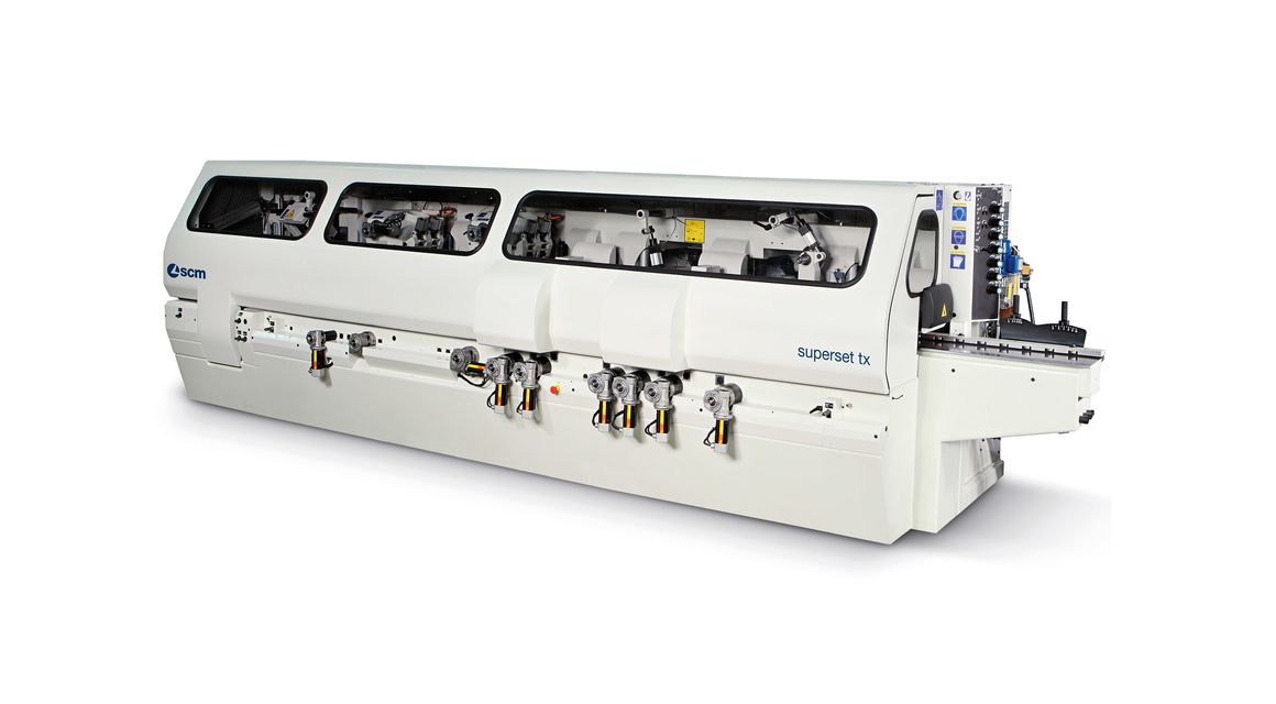 Automatic Throughfeed Moulder Superset TX - SCM Group