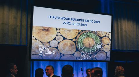 Timber houses: SCM alongside industry professionals at the Forum in Tallinn