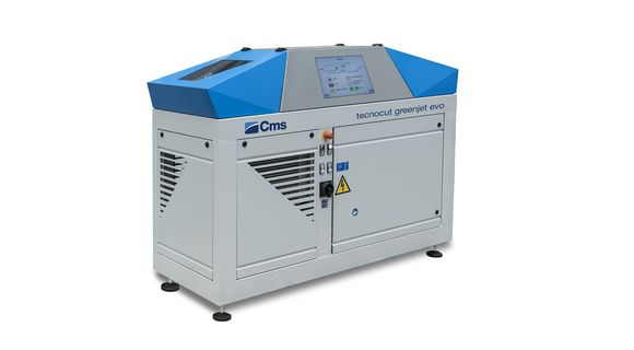 tecnocut greenjet Evo | Pressure Multiplier | CMS Metal Technology