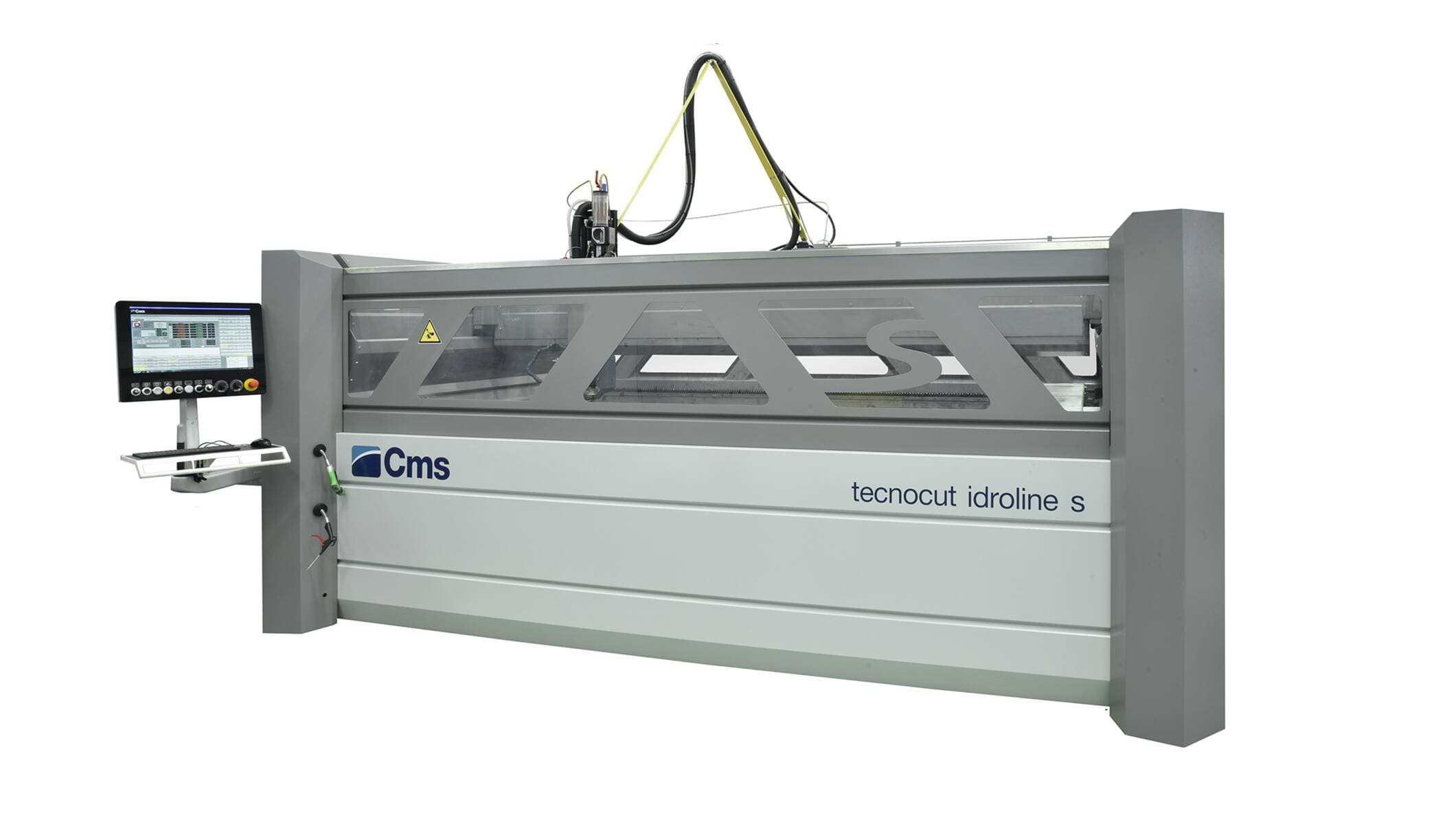 Tecnocut Idroline S - hydro-abrasive Waterjet Cutting System
