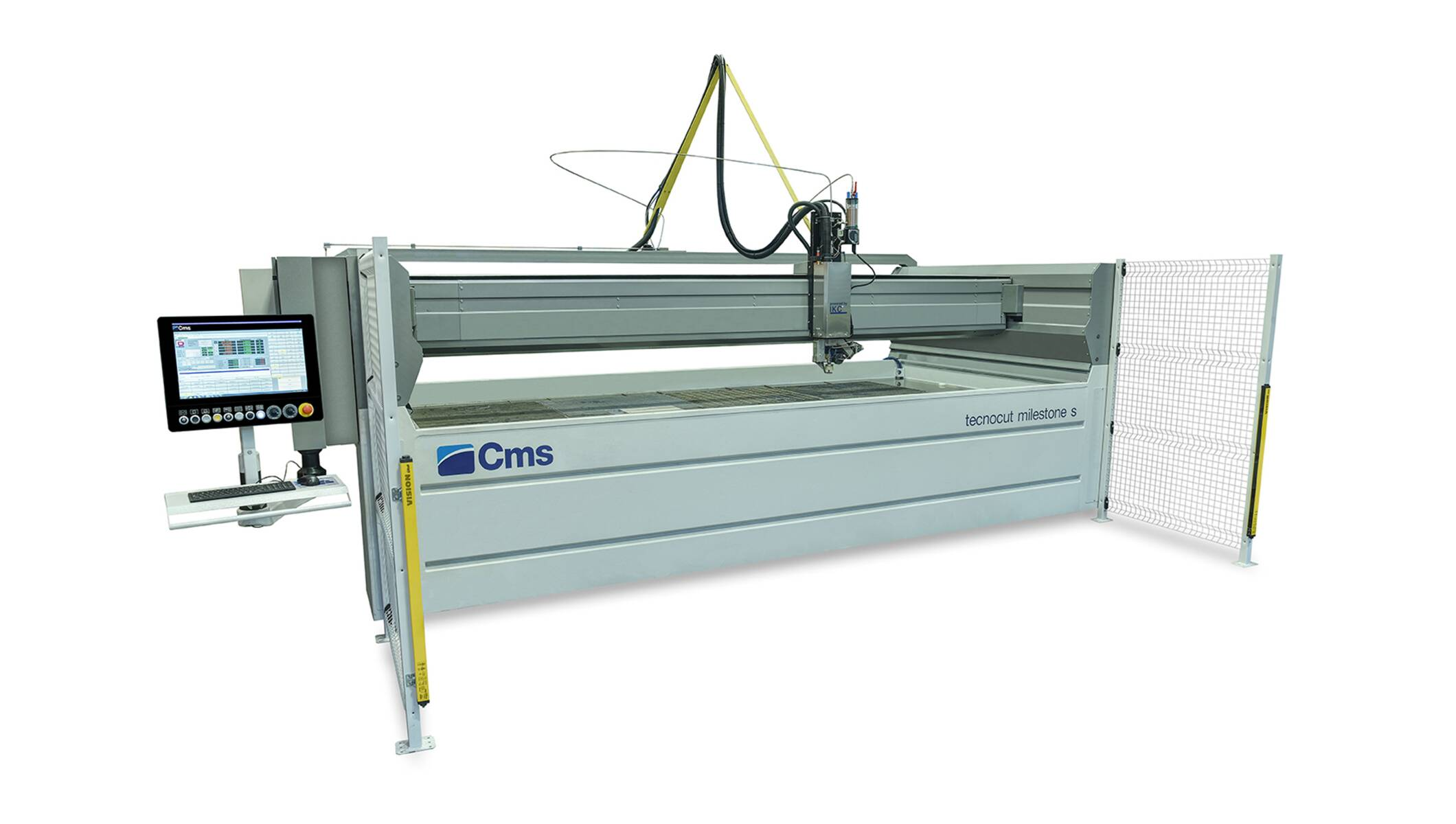 Complete waterjet systems - Waterjet cutting machines - tecnocut milestone s