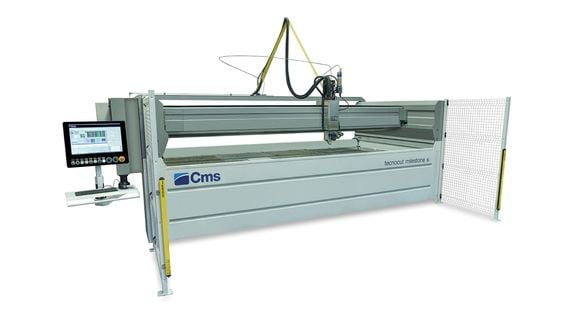 Tecnocut milestone S - Waterjet - SCM Group