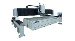 Tecnocut Aquatec - Waterjet Cutting Robot - CMS Metal
