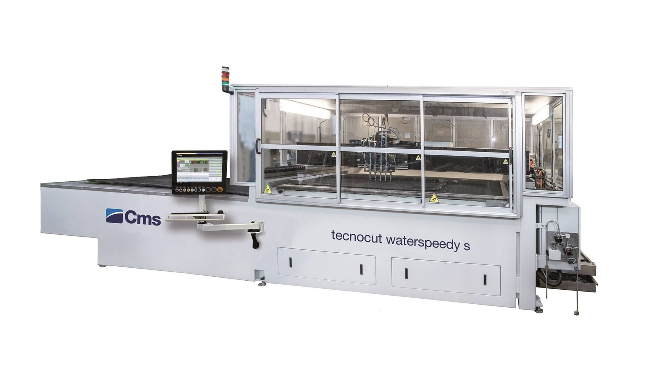 Metal processing - Complete waterjet cutting systems - tecnocut waterspeedy s