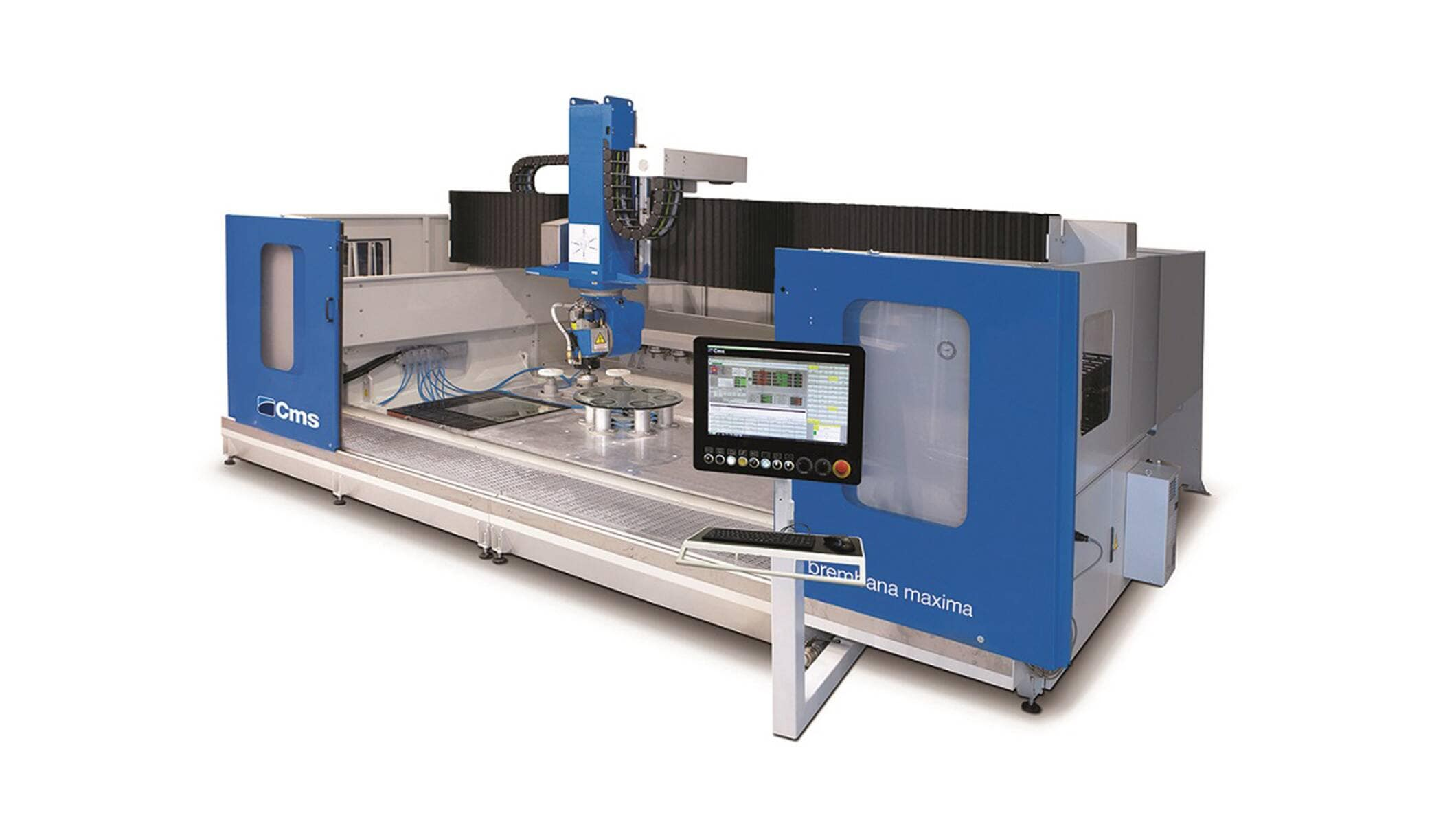 Brembana Maxima Glass - Horizontal Machining Centre - CMS Glass