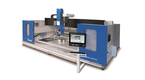 brembana maxima glass - Horizontal Machining Centre - CMS Glass