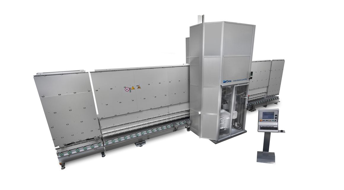 brembana profile - Vertical Glass Milling Machine - CMS Glass