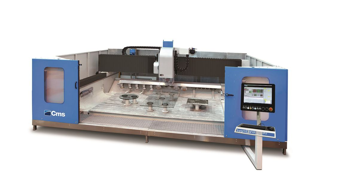 brembana speed glass - Horizontal Machining Centre - CMS Glass