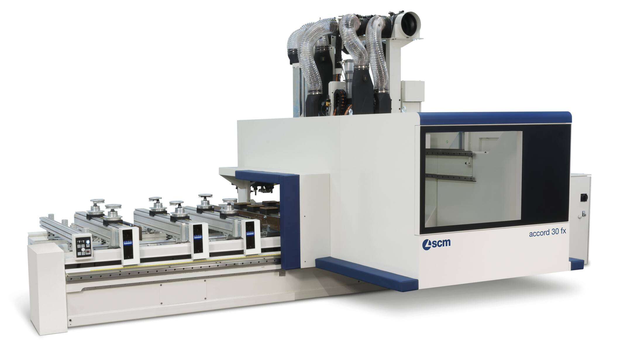 CNC Machining Centres - CNC Machining Centres for solid wood routing and drilling - accord 30 fx