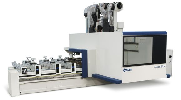 Accord 30 FX - Centro de Trabajo CNC Sólido - SCM Group