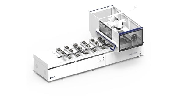 CNC Centro de Usinagem com ventosas Pratika 135B - SCM Group