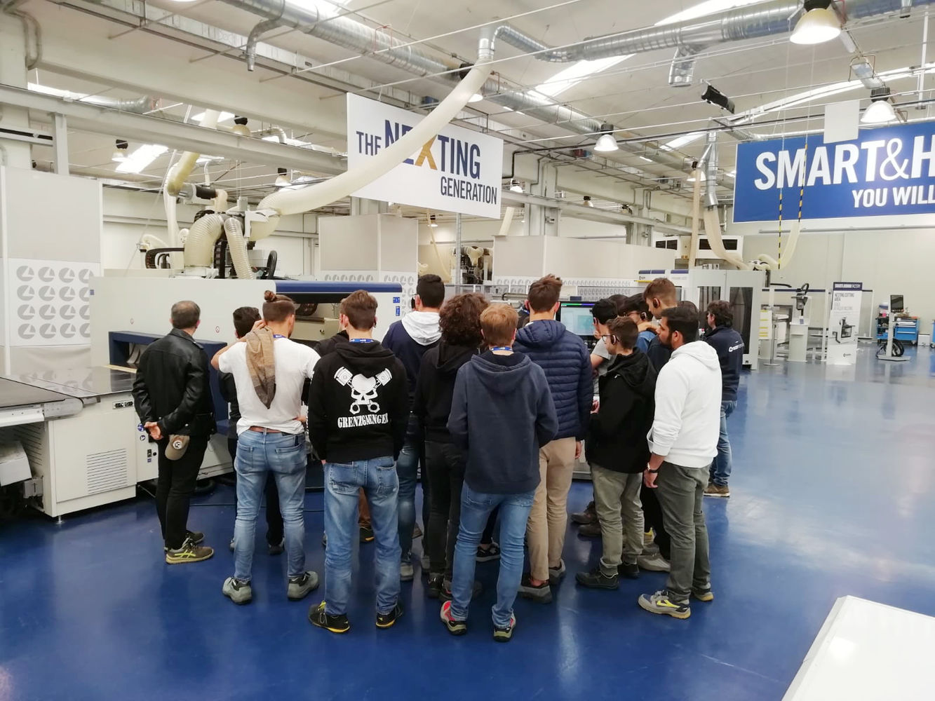 Amidst training and business: SCM opens its doors to display the best of its technologies