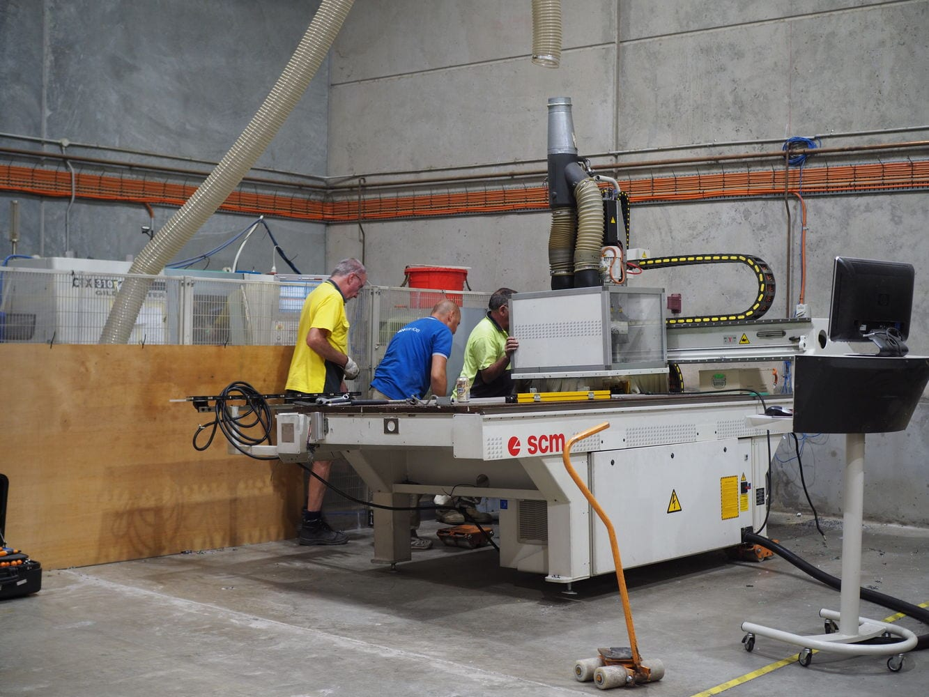 Seamless Integration With Morbidelli M100F