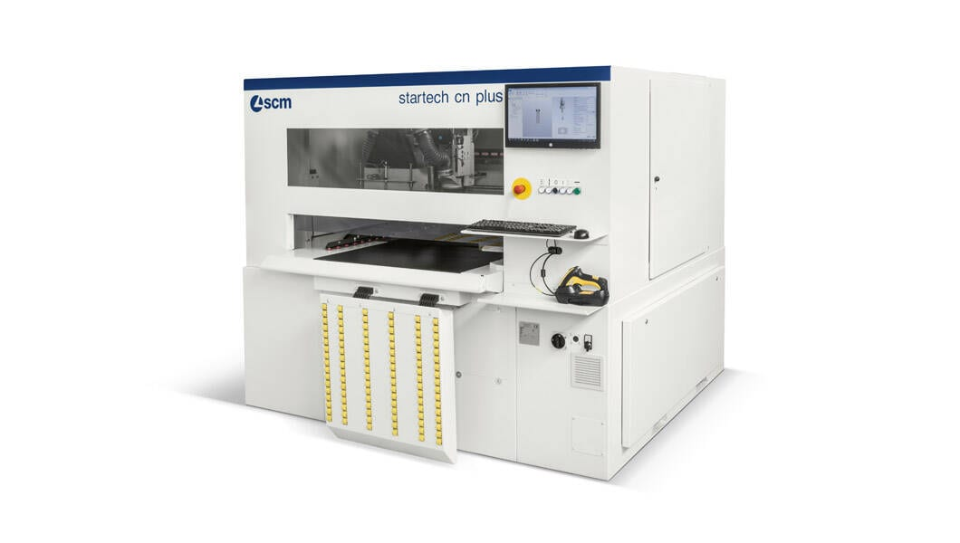 Joinery machines - CNC boring machining centres - startech cn plus