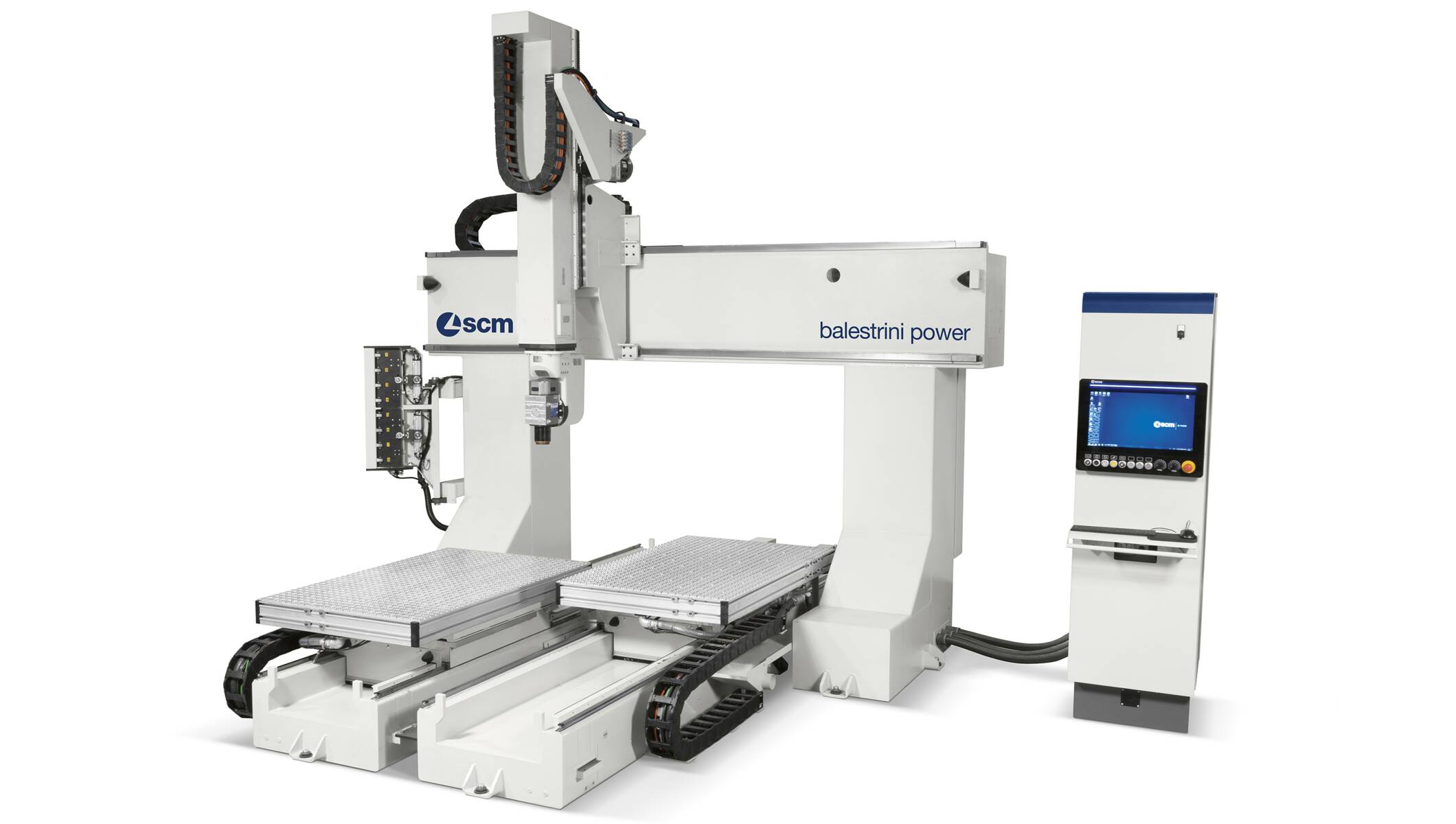 CNC Machining Centres - CNC Machining Centres for solid wood routing and drilling - balestrini power