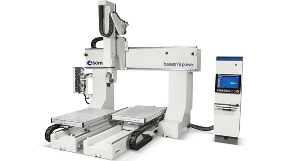 CNC Wood Integrated Machining Centres - SCM Group