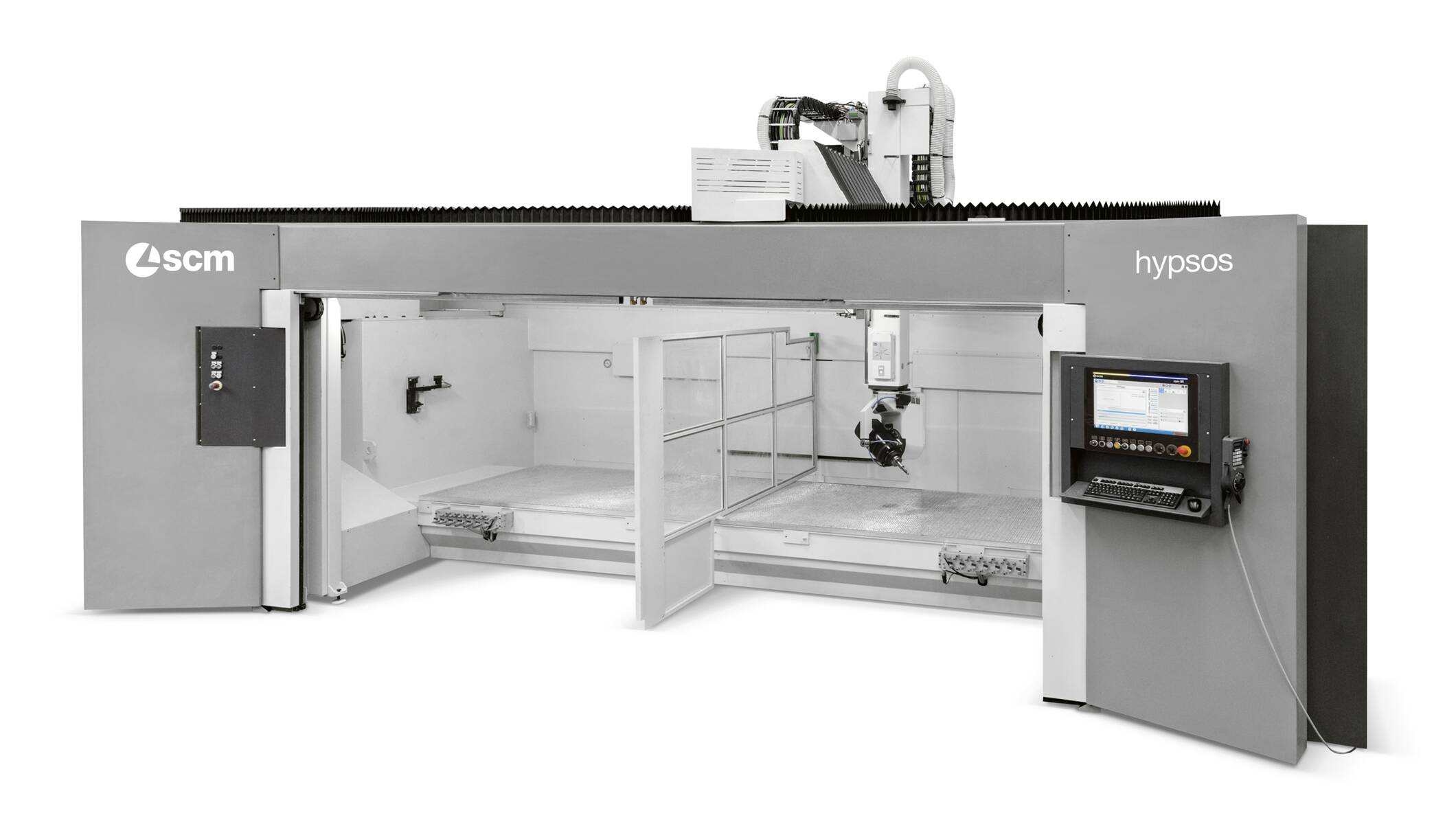 CNC Machining Centres - CNC Machining Centres for solid wood routing and drilling - hypsos