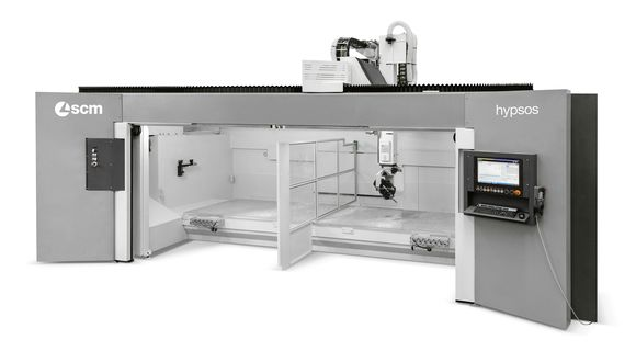 CNC Housing Machining Centres for Routing and Drilling - SCM