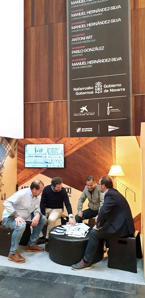 Timber construction: HolzBau comes to Spain and SCM plays the ace up its sleeve of high tech.