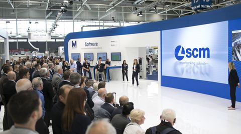 Diary at Ligna. SCM at the Hanover Trade Fair: 60 years of success