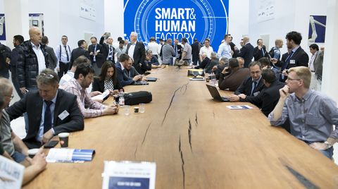 "Diary at Ligna. Outstanding results for SCM ""Smart&Human"" factory"