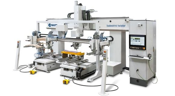 balestrini twister - Flexible 5 Axis CNC machining centre
