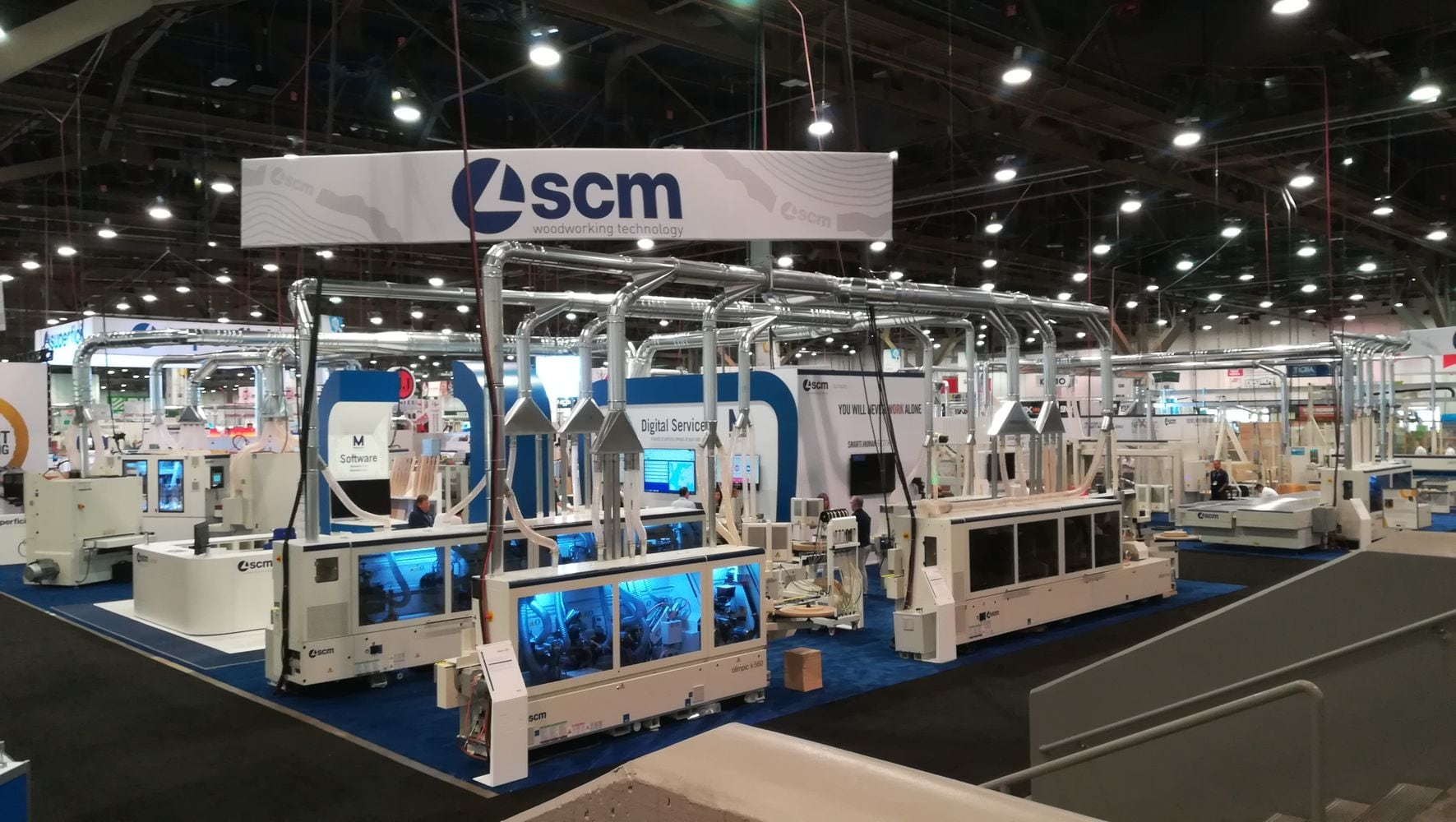 SCM takes centre stage at AWFS with its Smart&Human Factory