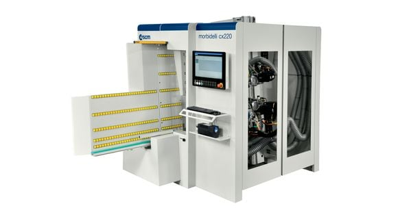 CNC Drilling Centres for Batch-1 Morbidelli cx210 - cx220 - SCM Group