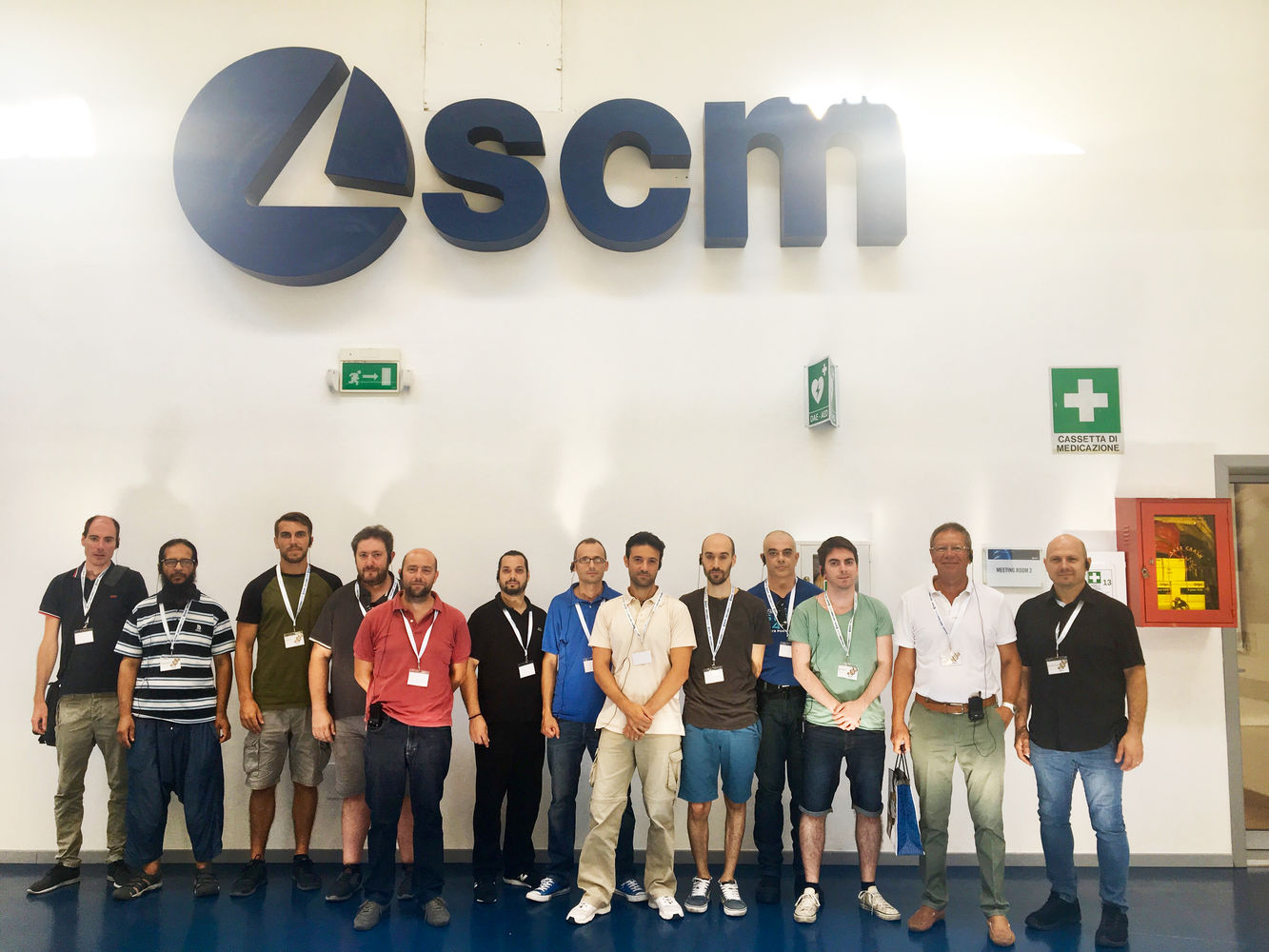 Industry 4.0, innovation and high tech: SCM encounters the world of training
