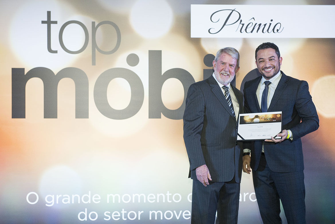 """Top Mobile"" Award: SCM is the most awarded company in the Brazilian woodworking sector"