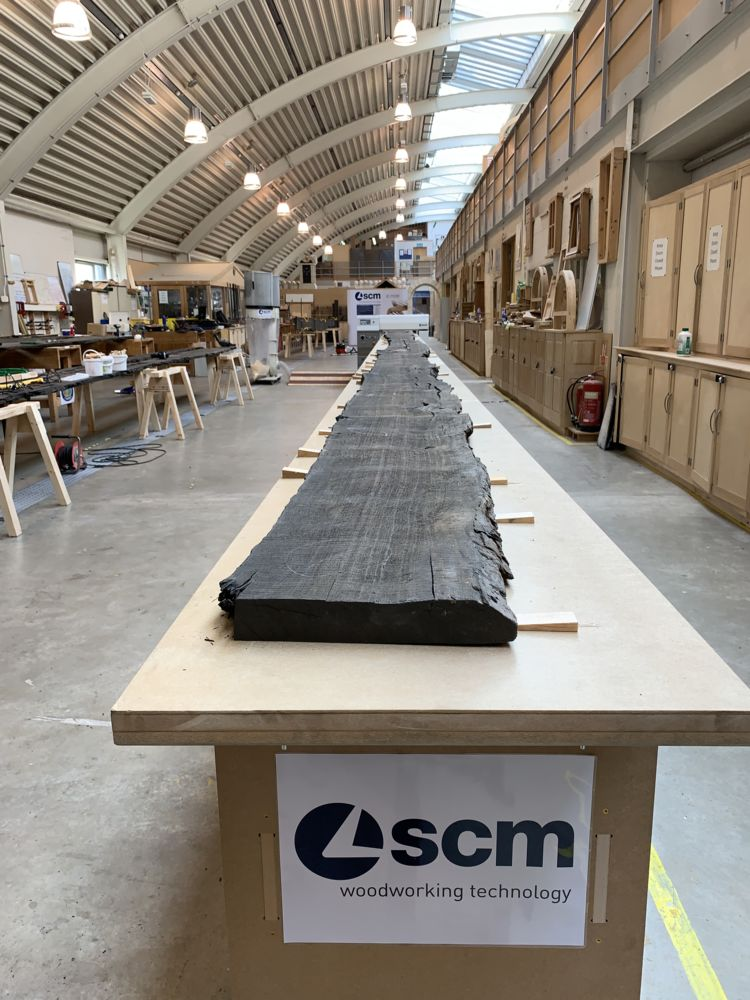 "SCM, technological partner for the ""Fenland Black Oak Project"""