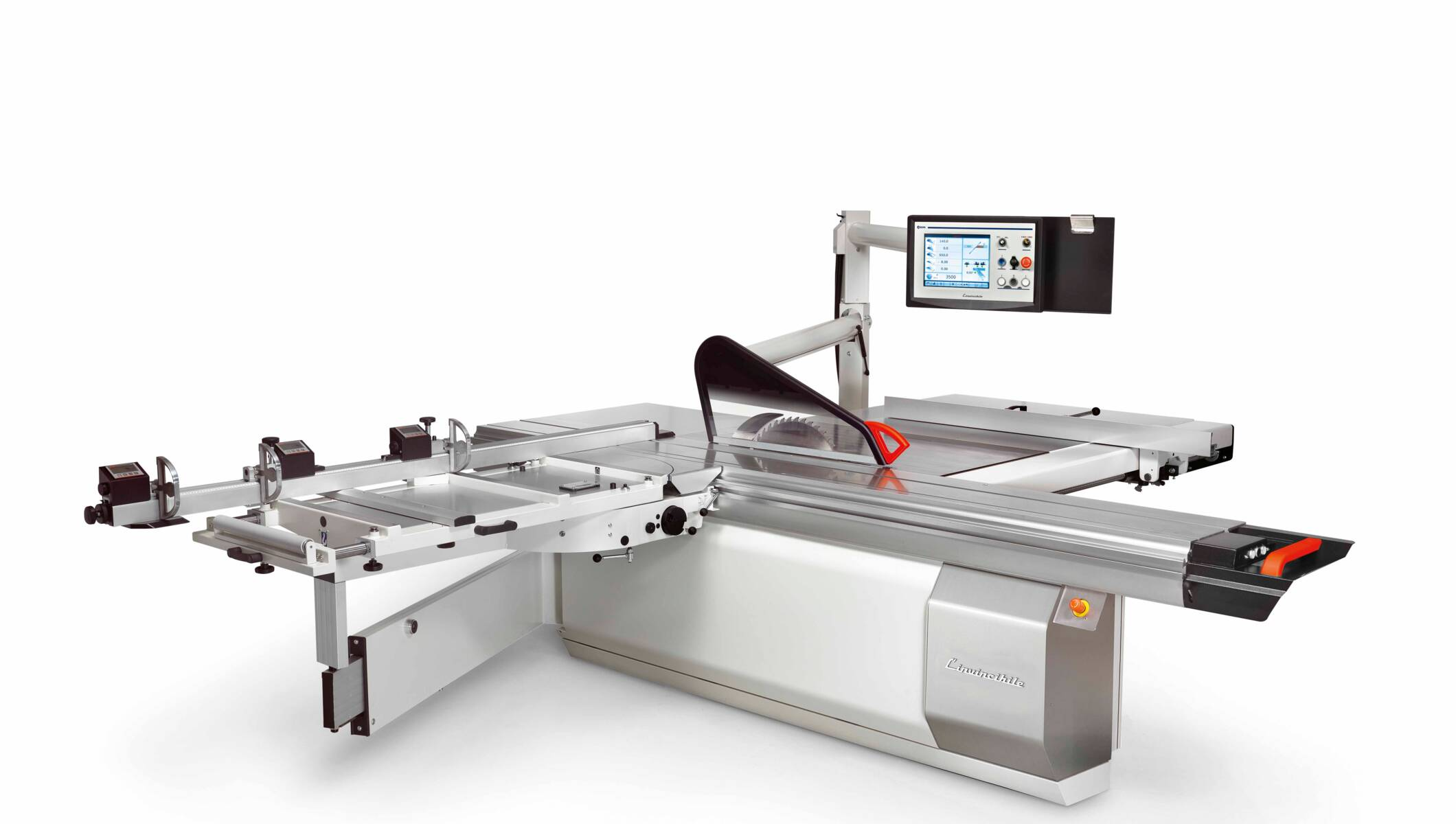 Joinery machines - Sliding table saws - L'invincibile six