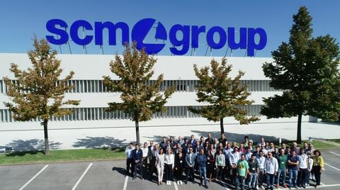 "Scm Group, one of the partners in the ""Inclusive"" European Project"
