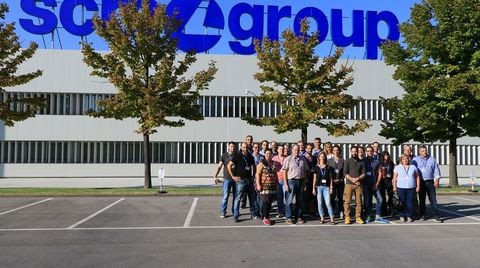 Tech tour from Germany at the Rimini and Villa Verucchio plants