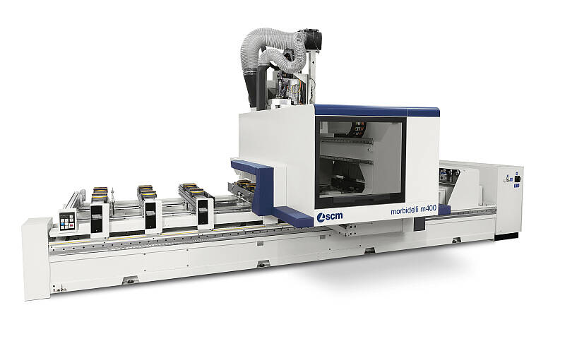 CNC Machining Centres - CNC Machining Centres for drilling and routing - morbidelli m400