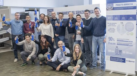 Corporate Social Responsibility Action for more than 3,000 employees throughout Italy