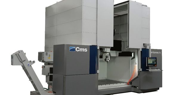 Antares - High Speed 5 Axis Machining Center - CMS Advanced Materials