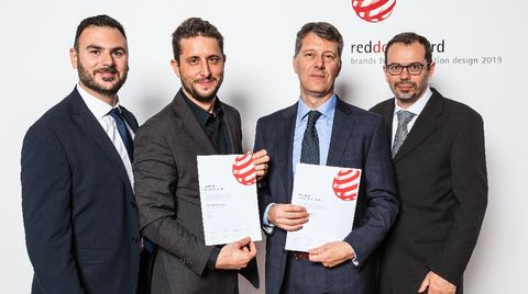 RedDot Award Prize to Scm Group and NiEW