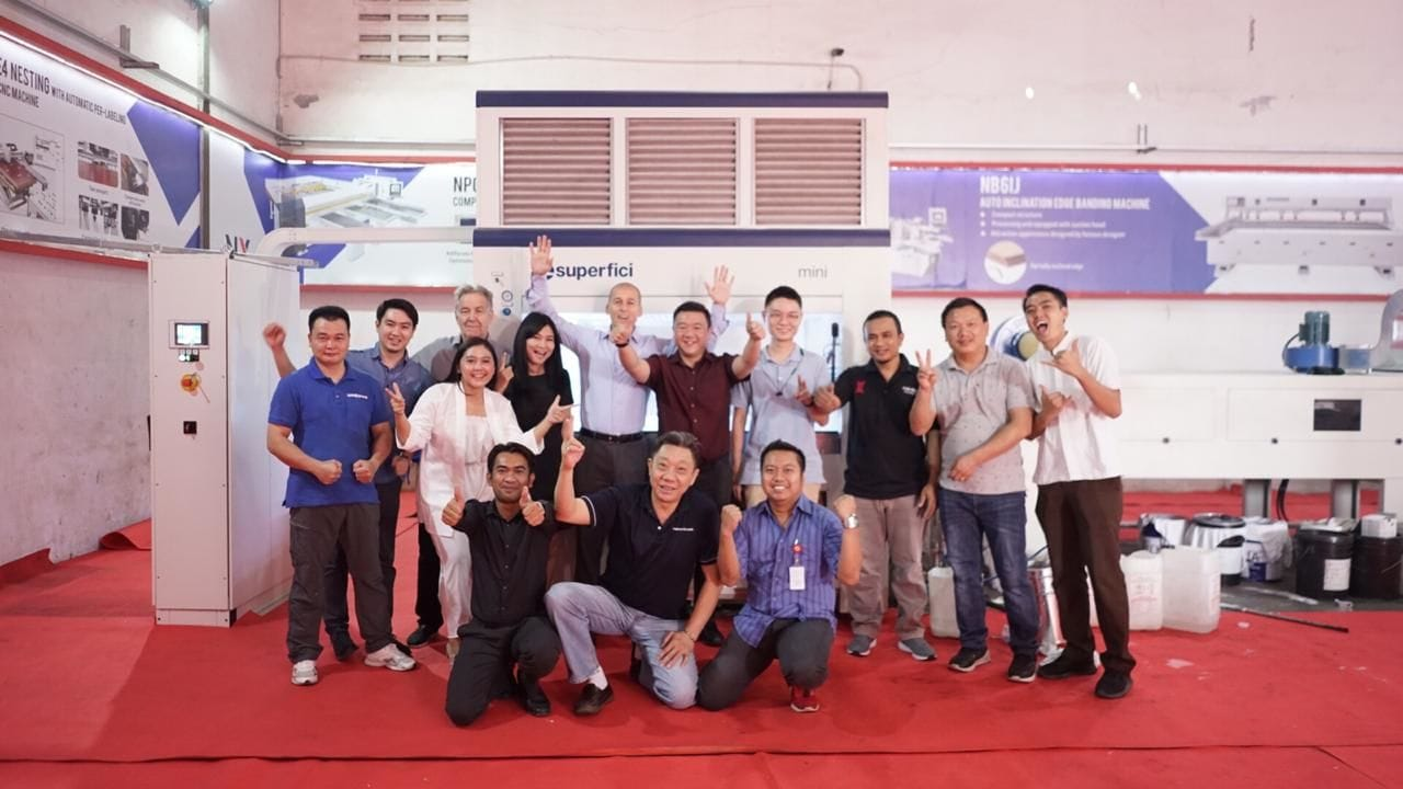 Hugely successful Open House in Indonesia
