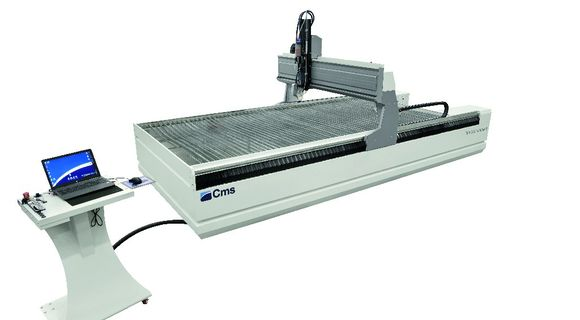 tecnocut smartline| Waterjet Cutting Robot | CMS Metal Technology