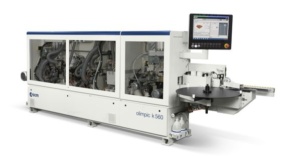 Single-Sided Automatic Edge Bander Olimpic K 560 - SCM Group