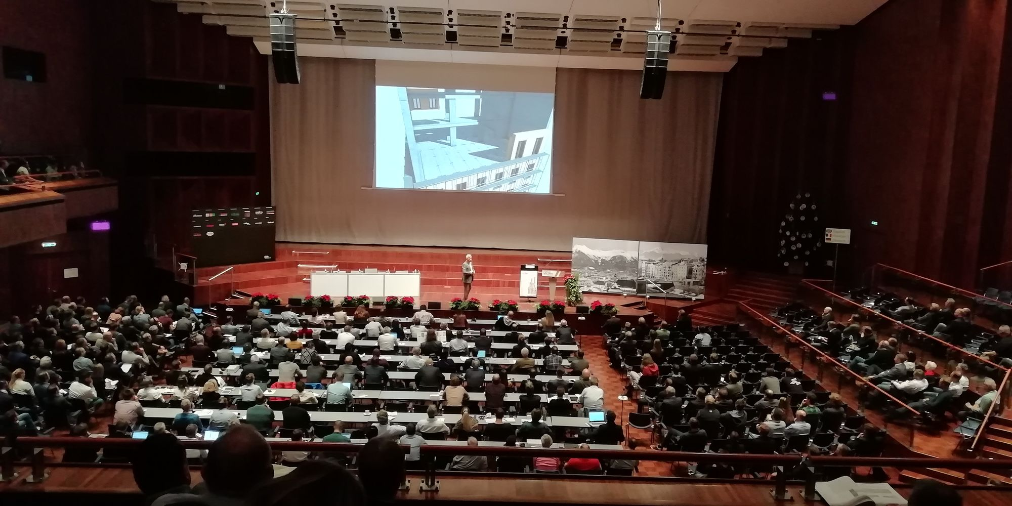 SCM at the 25th international timber construction Forum