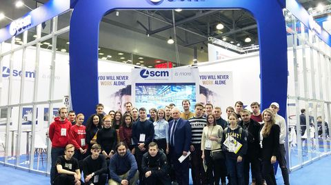 Woodex, day 3: young talent at work in the SCM stand