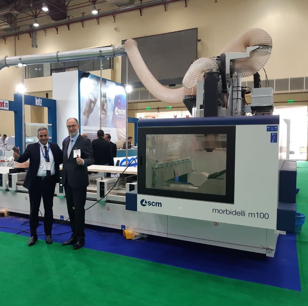"Cairo WoodShow, SCM ""All-in-one"" partner to the Egyptian market"